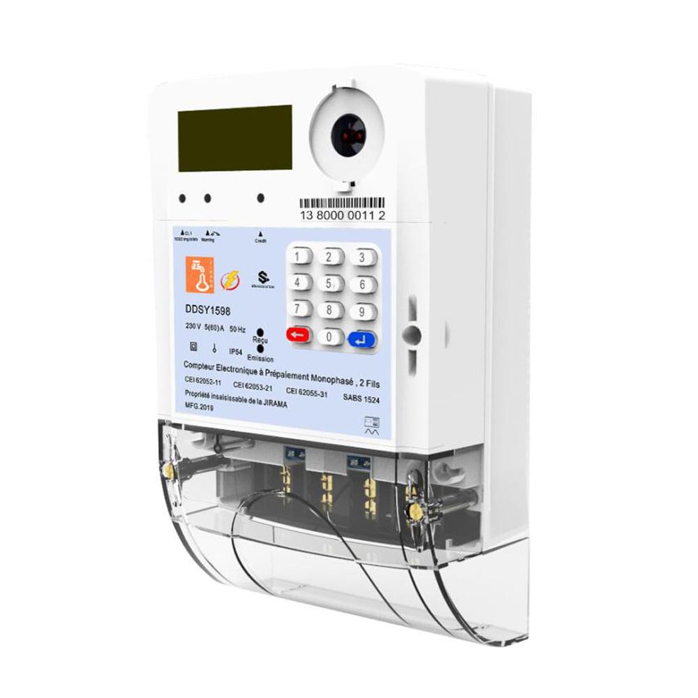 Dds1598 Smart Single Phase Energy Meter With Rf Plc Gprs 3g Module Smart Prepayment Meter Prepayment Or Prepaid Water Meter